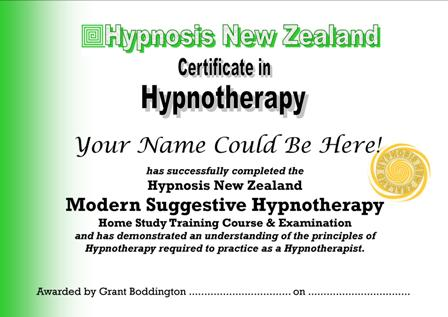 Hypnosis New Zealand Hypnotherapy Training Courses | Hypnotherapist ...
